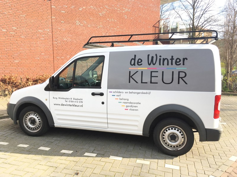 Bedrijfsbus | dewinterkleur.nl