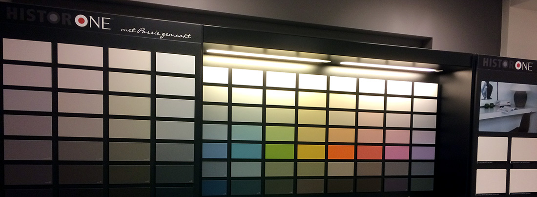 Histor One kleurenwand | dewinterkleur.nl