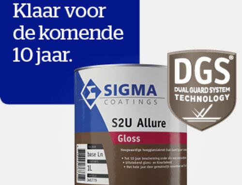 25 % korting op Sigma S2U Allure Verf